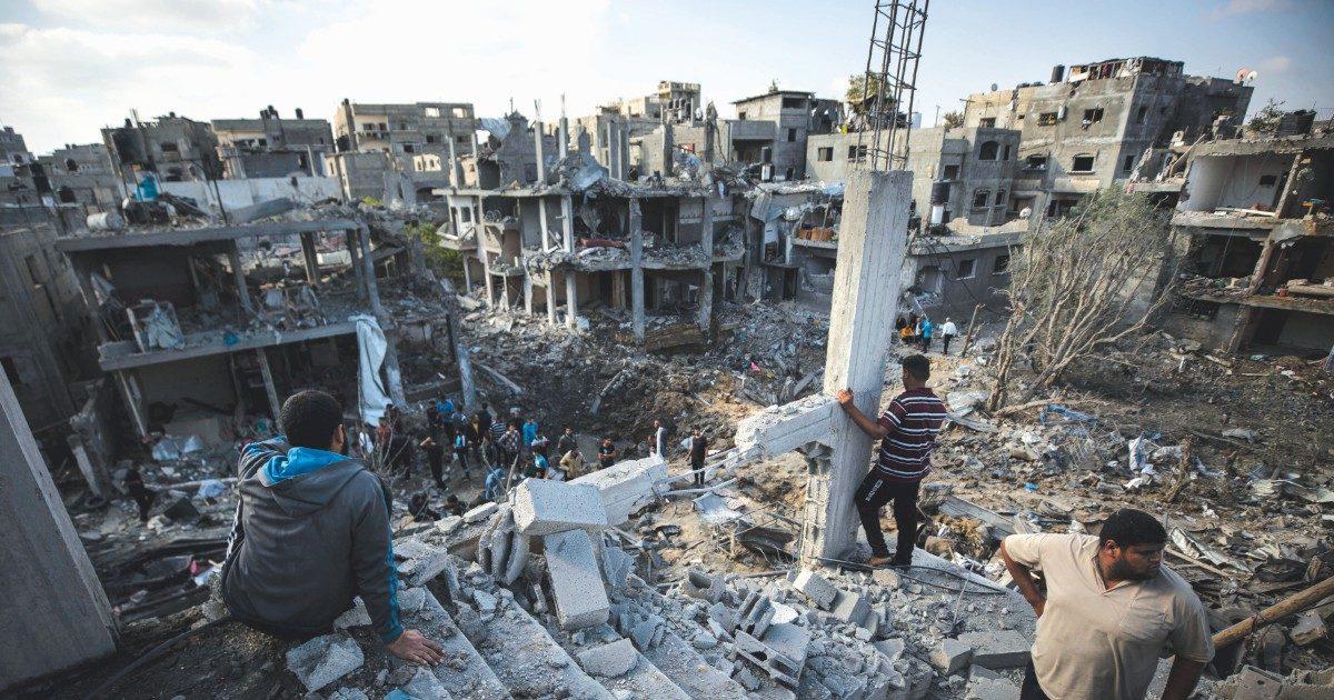Israele, shabbat e lutti. Gaza, la città spianata