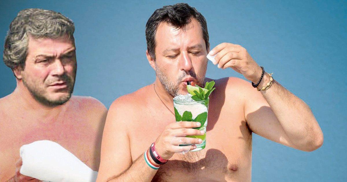 Pure Salvini incontrò lo 007 Mancini durante la crisi Conte
