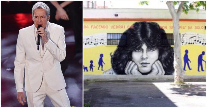 """Claudio Baglioni compie 70 anni e i fan gli dedicano un murales: """"Ma come vi è saltato in mente?!?"""". Gianni Morandi: """"Auguri al mio Capitano"""""""