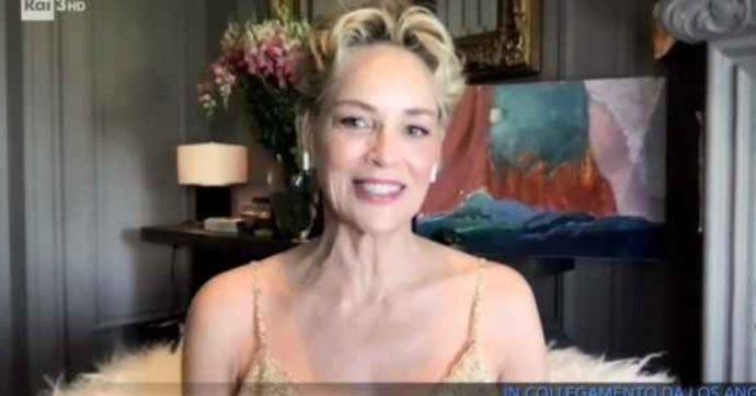"""Che Tempo Che Fa, Sharon Stone: """"Sono state le preghiere a farmi sopravvivere all'ictus. Ho fatto fumare erba a mia madre ma poi è arrivato il prete…"""""""