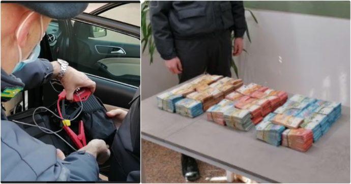 Vicenza, non ha reddito ma va in giro con 368mila euro nascosti nel doppiofondo dell'auto: scoperto dai controlli anti-Covid
