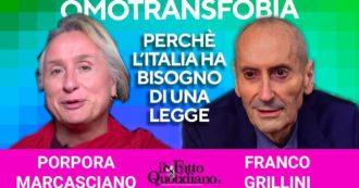 Giornata contro l'omotransfobia, perché l'Italia ha bisogno di una legge: rivedi la diretta con Franco Grillini e Porpora Marcasciano