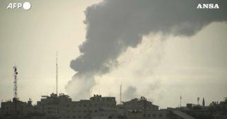 Gaza é atingida por novos ataques israelenses: fumaça aparece nas primeiras horas da madrugada - vídeo