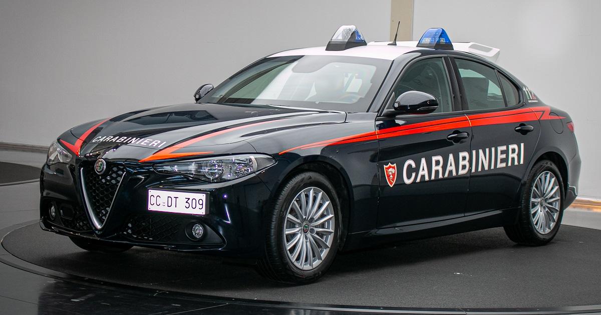 Alfa Romeo, presentata la Giulia per l'Arma dei Carabinieri
