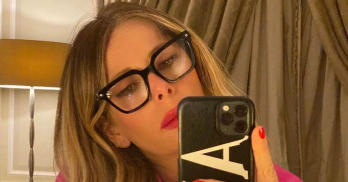 "Alessia Marcuzzi: ""Qualcuno si spaccia per me. Ho in mente mille pensieri brutti"""