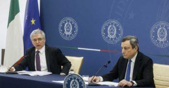 """Sostegni bis, Draghi: """"Rimbalzo Pil già in questo trimestre, ma per crescita serve il Pnrr. Altri decreti? Riapertura è miglior sostegno"""""""