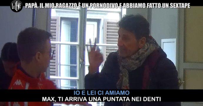 """Giovanni Galli, la figlia si fidanza con il pornoattore Max Felicitas e lui va su tutte le furie: """"Ti vengo a prendere a casa"""". Ma è opera de Le Iene"""