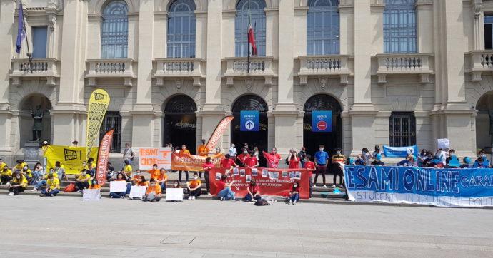 Politecnico di Milano, protesta degli studenti contro l'obbligo degli esami in frequenza. E i fuorisede senza casa sono costretti al rientro