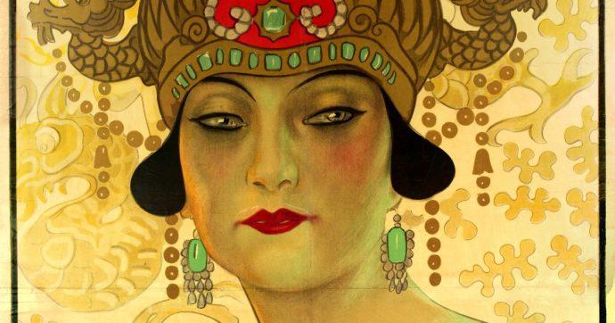 I segreti della Turandot in mostra al Museo del tessuto di Prato: costumi e gioielli ritenuti perduti scoperti in un misterioso baule