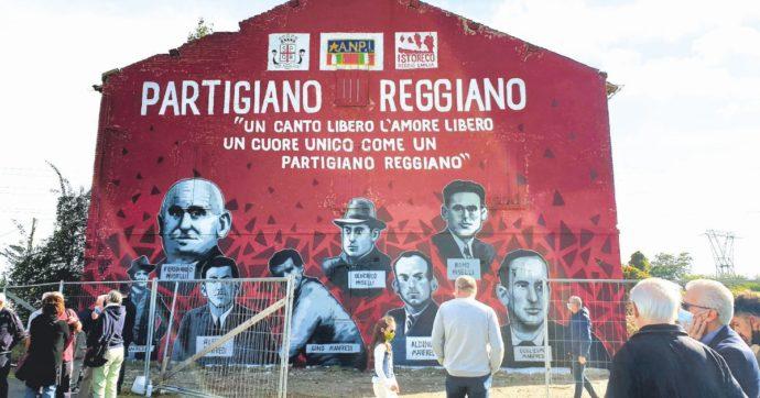 Partigiano Reggiano: vogliono rimuovere il murales perché non c'è nulla da comprare?