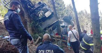 Funivia Mottarone Stresa, la cabina è caduta a 100 metri dall'ultimo traliccio prima della stazione di arrivo