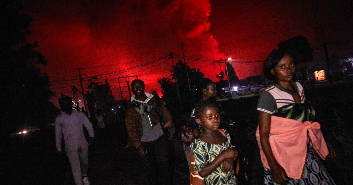 Si è svegliato il vulcano Nyiragongo, uno dei più ...