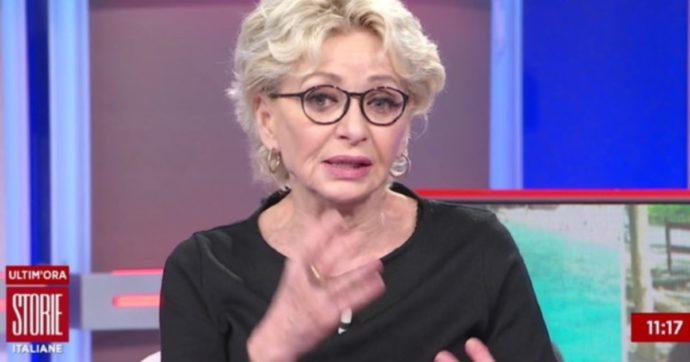 """Storie Italiane, Enrica Bonaccorti ha un crollo in diretta. Eleonora Daniele: """"Stai male? Che succede?"""""""
