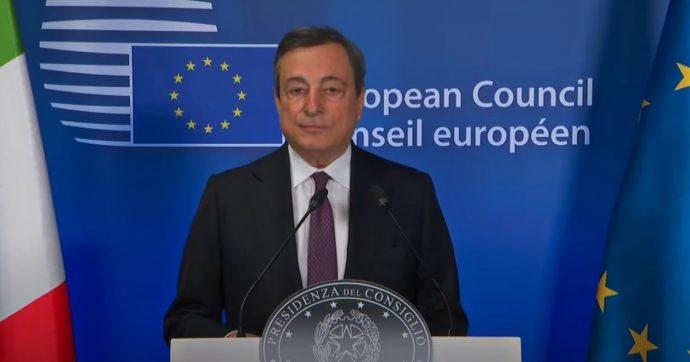 """Draghi: """"Italia sola ad affrontare il problema migranti"""". L'attacco del premier all'Europa che i grandi giornali preferiscono nascondere"""