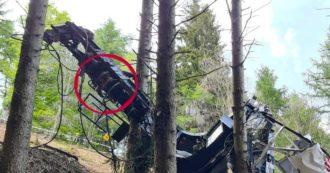 """Funivia del Mottarone, il freno della cabina era disattivato: ecco il """"forchettone"""" inserito, possibile concausa dell'incidente"""