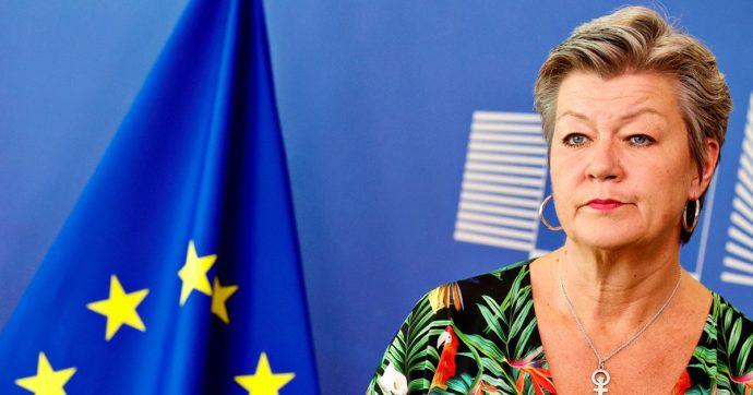 Migranti, commissaria Ue Johansson: 'Pensato meccanismo di solidarietà ad hoc per l'Italia. Con più arrivi serve maggior contributo dei 27'