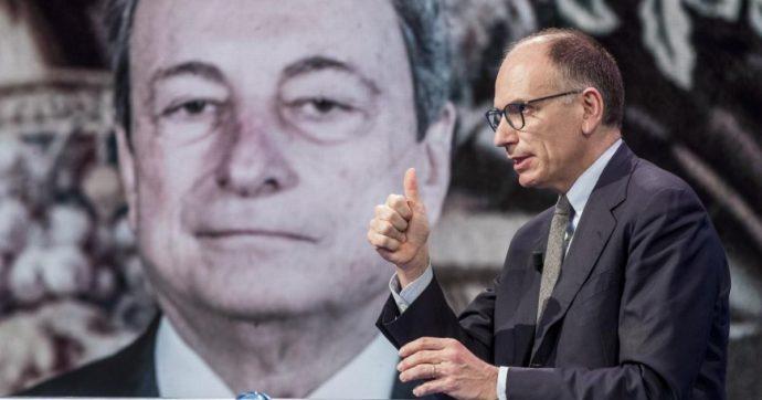 """Tassa di successione sui patrimoni più alti, Letta insiste: """"Ho visto Draghi. Proporremo di inserirla nella riforma del fisco"""""""