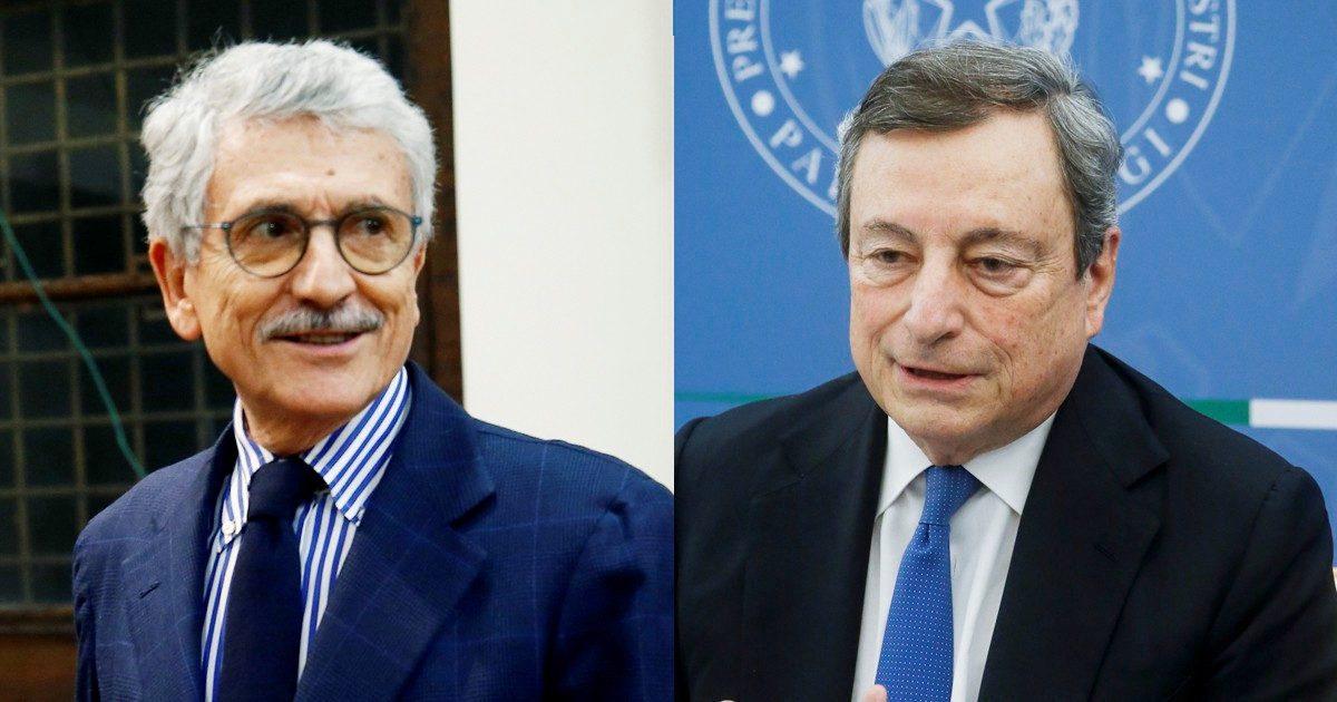 L'incontro Draghi-D'alema, poi l'agguato a Conte
