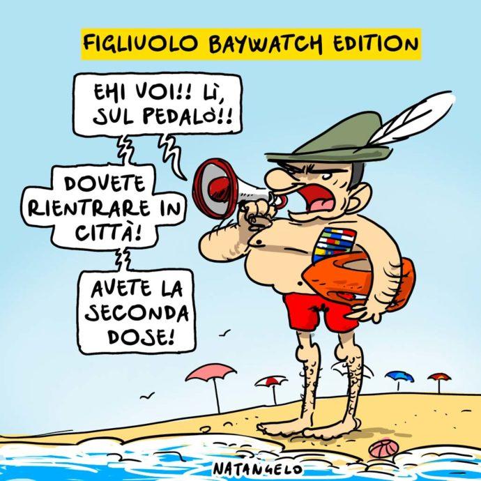 Figliuolo baywatch edition