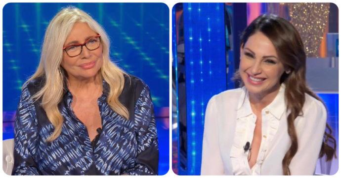 """Domenica In, Mara Venier e la battuta """"hot"""" ad Anna Tatangelo in diretta: """"Ma sei nuda?"""". Lei reagisce così"""