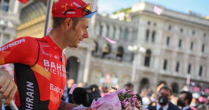 Il Giro d'Italia e il destino di Damiano Caruso: da gregario a campione, strepitoso secondo