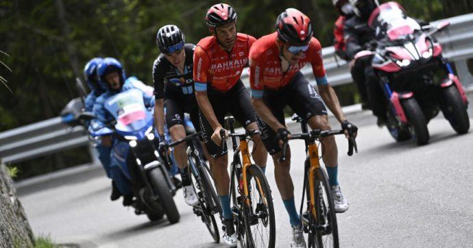 Giro d'Italia, il gesto con cui Damiano Caruso ha dimostrato di essere più di un grande atleta