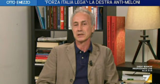 """Travaglio at La7: """"Count in Parliament?  No, it would do well to tour Italy as the leader of the M5s.  Salvini?  In great difficulty, he tells lies"""