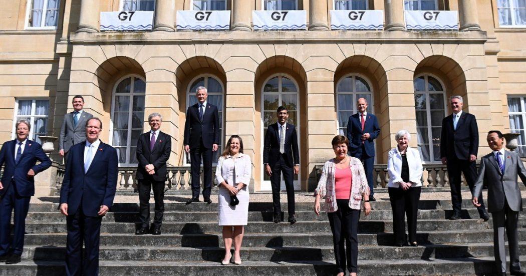 """Tassa minima globale sulle multinazionali, intesa tra i ministri del G7 su un'aliquota di almeno il 15%. """"Stop alla corsa al ribasso, più equità"""""""