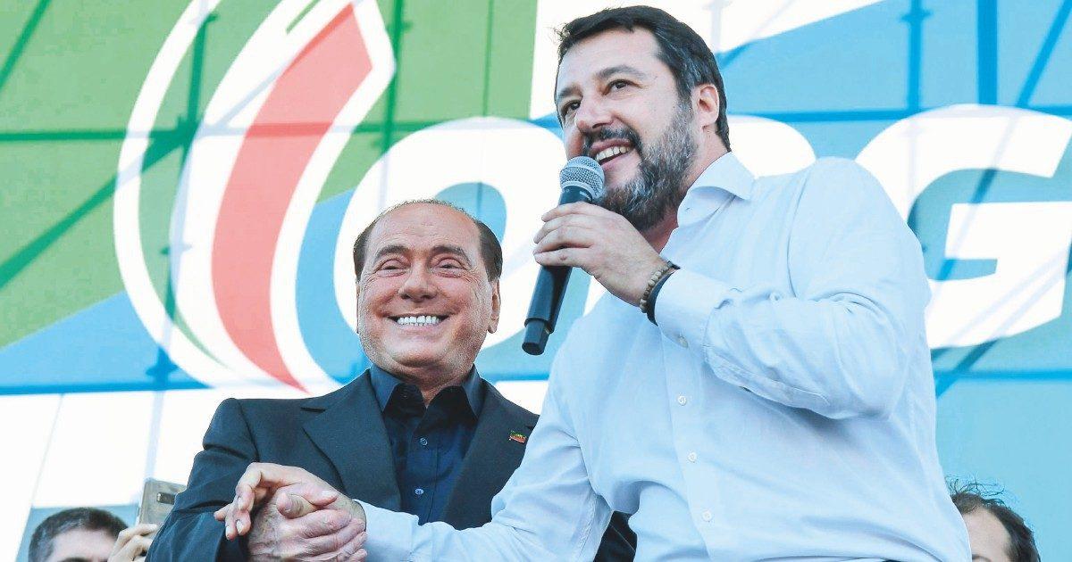 Salvini va sul carro di B. per scappare da Meloni