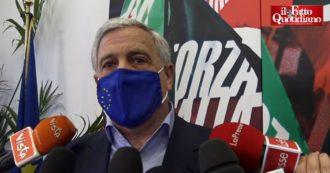"""Federazione centrodestra, Tajani: """"Valutiamo la proposta di Salvini. Malumori interni a Forza Italia? Il dibattito non mi spaventa"""""""