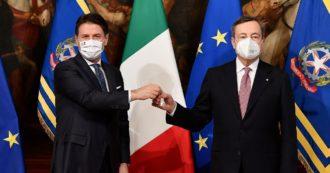"""Lavoro, ambiente: Conte pronto a """"sfidare"""" Draghi"""
