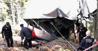 """Mottarone, l'audio della prima telefonata dei soccorritori ai Carabinieri: """"È caduta una cabina della funivia, si è schiantata. Che casino…"""""""