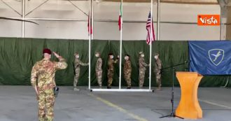 Twenty-year mission of the Italian regiment in Afghanistan comes to an end: the flag is lowered in Herat