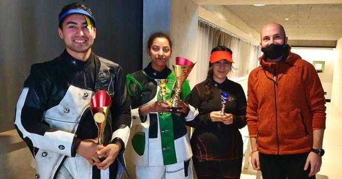 Due rifugiati alle Olimpiadi nel tiro a segno: l'impresa di Mahdi e Luna dopo soli 2 anni di allenamenti col campione olimpico Campriani