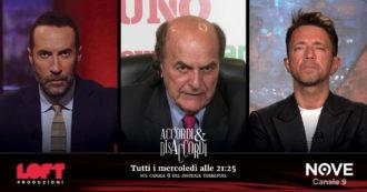"""Pier Luigi Bersani ad Accordi&Disaccordi (Nove): """"La sinistra riparta dal lavoro. E a Conte dico: 'Fatti vedere sul territorio"""