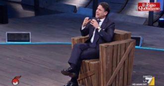 """Conte a La7: """"Come ho fatto a fidarmi di Renzi? Non sono mai stato sereno. Una crisi come quella ha fatto molto male agli italiani"""""""