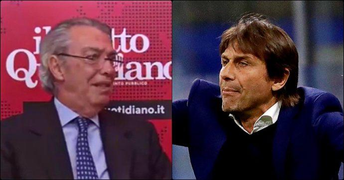 """Antonio Conte dopo l'intervista di Moratti al Fatto.it: """"Non ho lasciato l'Inter per mancanza di attaccamento. Amareggiato da sue parole"""""""