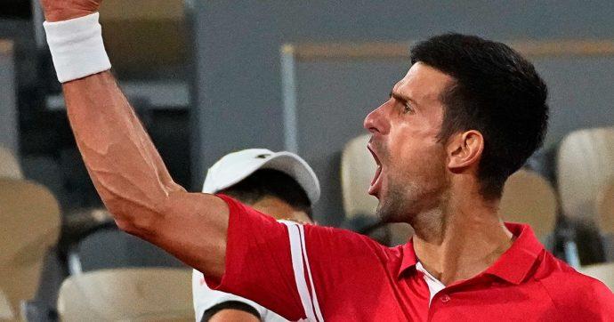 Roland Garros, quell'urlo rabbioso di Djokovic dopo aver battuto Matteo Berrettini è la prova della crescita del tennis italiano