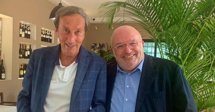 Gianfranco Fini, il ritorno dell'ex leader di An: la foto su Twitter dopo il pranzo con Storace