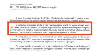 """La lettera di Figliuolo alle Regioni: """"Nulla osta agli open day AstraZeneca"""". Toti pubblica il documento sui social in risposta agli attacchi"""