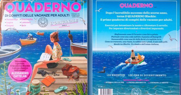 Esce la seconda edizione del 'Quaderno di compiti delle vacanze per adulti': tra quiz, prove di memoria e cultura legati all'attualità