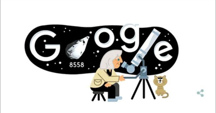 Google dedica un doodle in 3D a Margherita Hack per celebrare i 99 anni dalla sua nascita