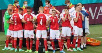 La lezione danese sul concetto di squadra: il soccorso di capitan Kjaer, il muro oplitico dei compagni e il 'giocate' di Eriksen dall'ospedale