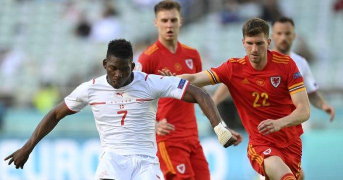 Galles-Svizzera 1-1, Moore risponde a Embolo: l'Italia è in testa al gruppo A in solitaria