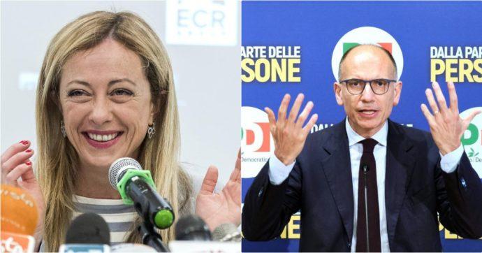 Sondaggi Ipsos: Pd primo partito, dietro Fdi che supera la Lega. Quarto il M5s