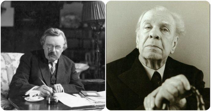 Borges e Chesterton, morti nello stesso giorno per un incrocio superficialmente casuale