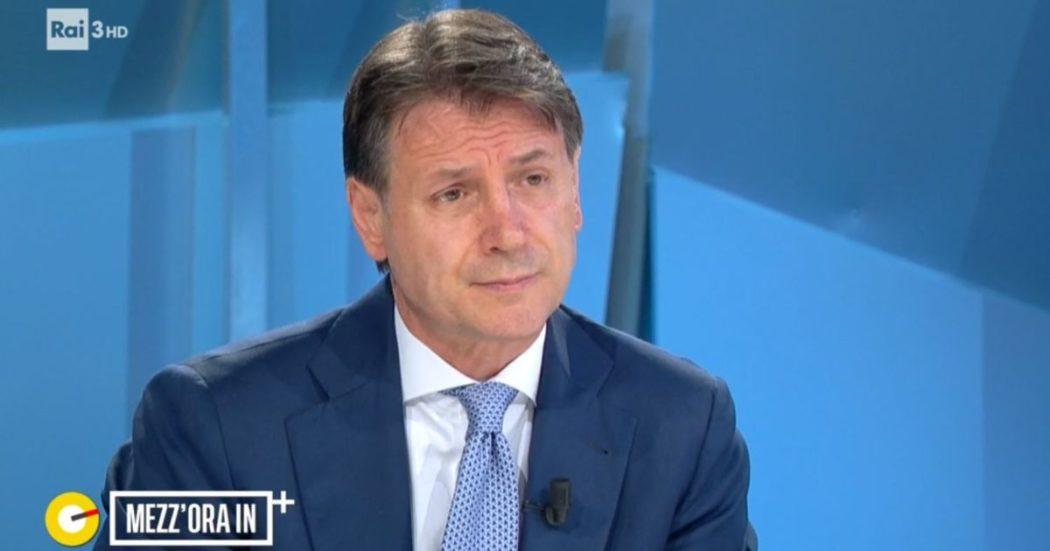 """Conte: """"M5s dice la sua, ma sostegno chiaro a Draghi. Nuovo Movimento? Ci sarà un consiglio di nominati ed eletti. Faremo fronte unico con Pd e Leu nel centrosinistra"""""""