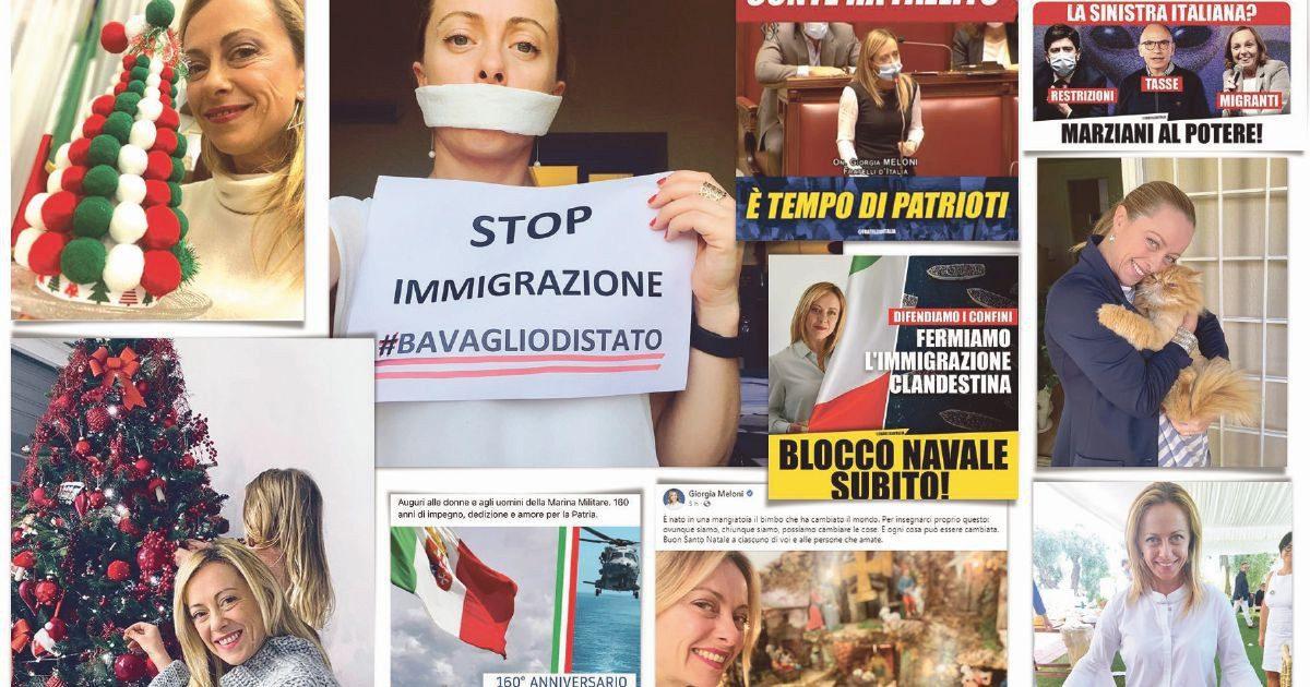 """La destra delle """"Bestie"""" social: Giorgia azzanna più di Matteo"""