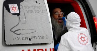 """Israele, aumentano i contagi tra i vaccinati. """"Pfizer copre solo al 64% dalla variante Delta"""""""