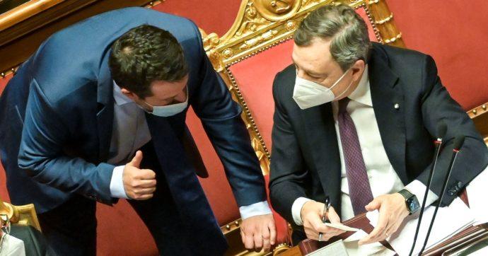 """Salvini vede Draghi: """"Mascherine all'aperto? Serve libertà di respiro in pochi giorni. Dello stato di emergenza ne parliamo a luglio"""""""